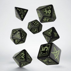 Call of Cthulhu Dice Black...