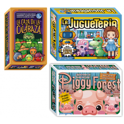 Pack La Juguetería + Piggy...
